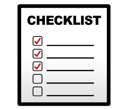 Do you have a bankruptcy ECF checklist?